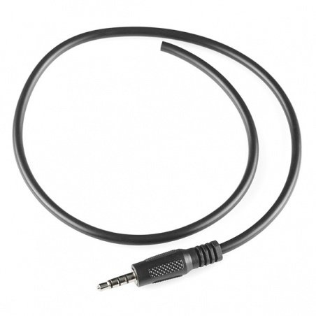 """Audio Cable TRRS - 18"""" (pigtail)"""