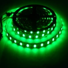 WS2812 Digital RGB 60 LED Strip - Black- 5 Meter