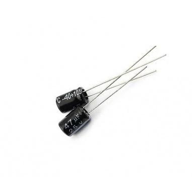 47uF/25v Electrolytic Capacitor