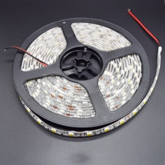 White wheatherproof LED Strip - White- 5 Meter Reel
