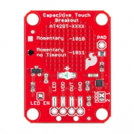 SparkFun Capacitive Touch Breakout - AT42QT1011: SEN-14520