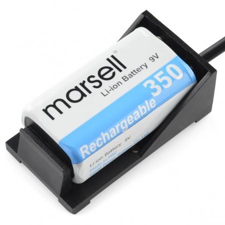 9V Battery Holder: PRT-10512