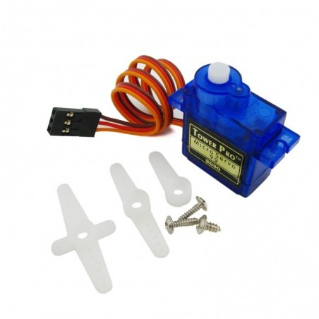 TowerPro SG90 9G Micro Servo with Accessories