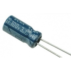 3.3uF 100v Electrolytic Capacitor