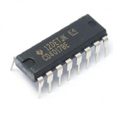 CD4017 Counter/Divider IC
