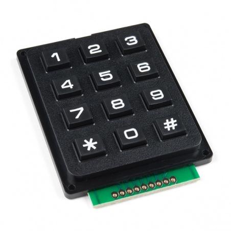 Keypad - 12 Button: COM-14662