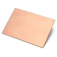 FR4 Copper Clad Double sided - 20 x 15 CM