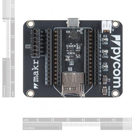 Pycom Expansion Board 3.0:  DEV-14675