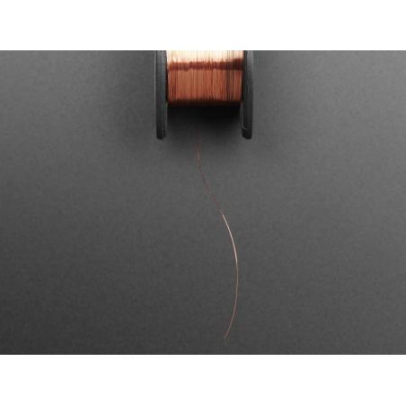 Enameled Copper Magnet Wire – 11 meters / 0.1mm diameter