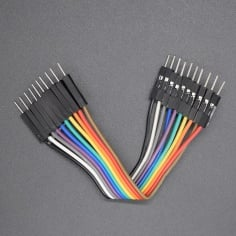 10cm Male-Male jumper wires (Pack of 30)