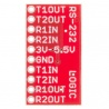 SparkFun Transceiver Breakout - MAX3232 : BOB-11189