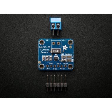 INA219 High Side DC Current Sensor Breakout - 26V ±3.2A Max