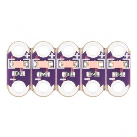 LilyPad LED Pink (5pcs)  DEV-14010