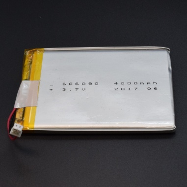 3.7v Lithium Ion (Lipo) Battery - 4000mAH