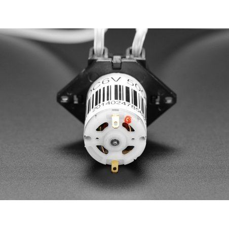 Peristaltic Liquid Pump with Silicone Tubing - 5V to 6V DC Power