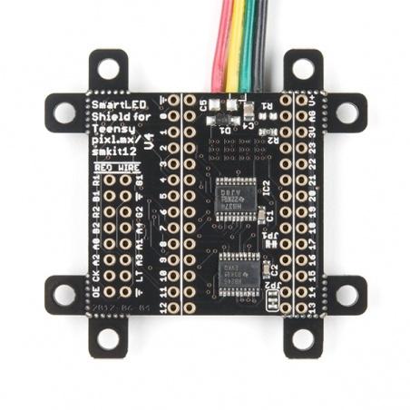 SmartLED Shield V4 for Teensy  DEV-15046