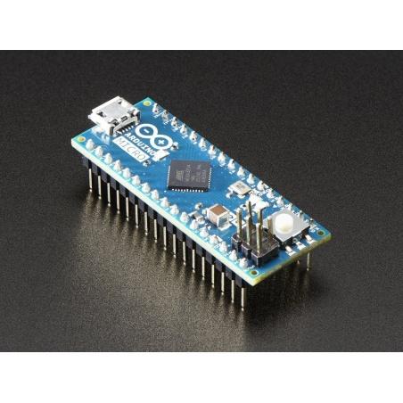 Arduino Micro with Headers - 5V 16MHz - (ATmega32u4 - assembled)