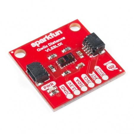 SparkFun Distance Sensor Breakout - 4 Meter, VL53L1X (Qwiic)  SEN-14722