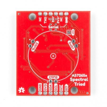 SparkFun Triad Spectroscopy Sensor - AS7265x (Qwiic)  SEN-15050