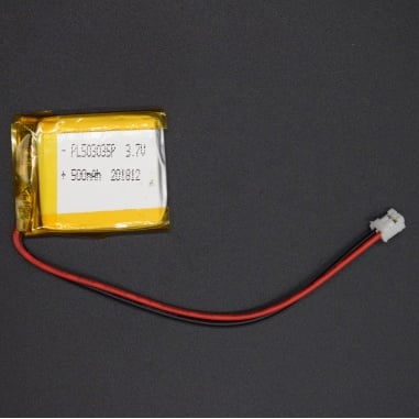 500mAh Lithium Ion (LiPo) Battery