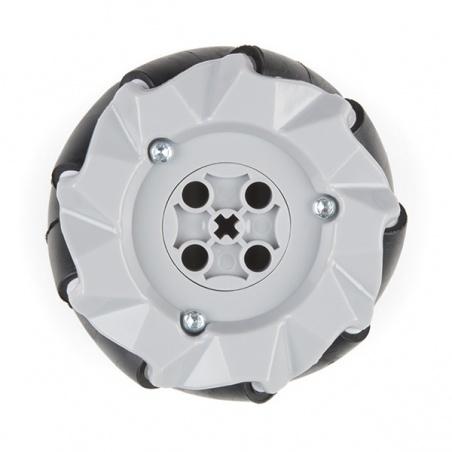 Mecanum Wheels - 65mm, LEGO Compatible (4 Pack)  ROB-15536