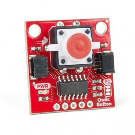 SparkFun Qwiic Button - Red LED BOB-15932
