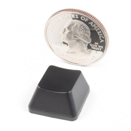 Cherry MX Keycap - R2 (Opaque Black)  PRT-15305