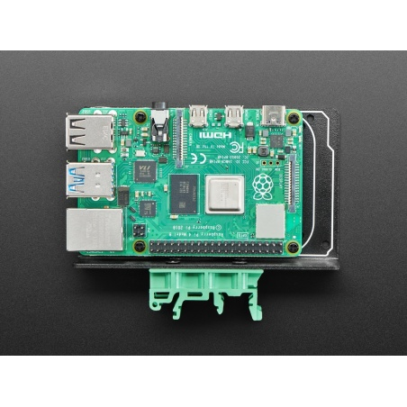 DIN Rail Mount Bracket for Raspberry Pi  BeagleBone  Arduino