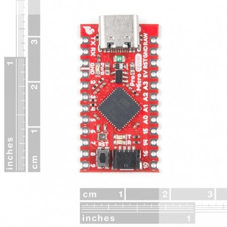 SparkFun Qwiic Pro Micro - USB-C (ATmega32U4)  DEV-15795