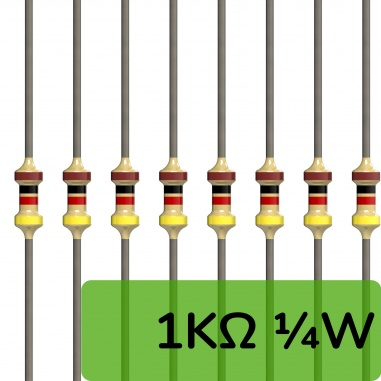 Through hole Resistors  ( 0Ω ~ 10MΩ)