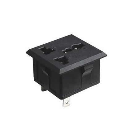 G:\Shared drives\Online Store\Pictures\Online Store\3 pin Universal Electrical Power Socket - Black