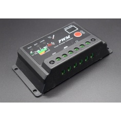 Solar Charge Controller PWM,12V/24V 10A