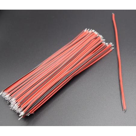 22 AWG Led Strip Red Black