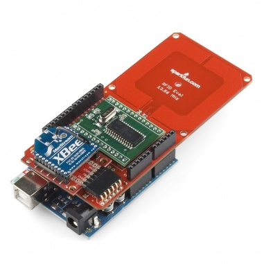 SparkFun RFID Evaluation Shield - 13.56MHz