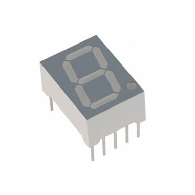 7 Segment Display common cathode